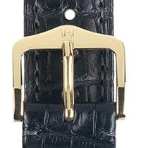 Hirsch Uhrenarmband Earl schwarz L 04707059-1-18 18mm
