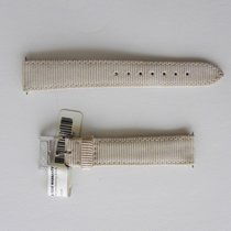 Burberry 17MM BEIGE CANVAS STRAP