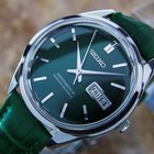 Seikomatic-r Automatic Men's Japanese Made Rare Vintage...