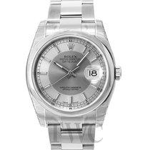 ロレックス (Rolex) Datejust Steel Silver/Steel Ø36 mm - 116200