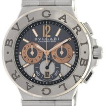 Bulgari Full set Diagono Chronograph cal. 303 automatic DG 42...