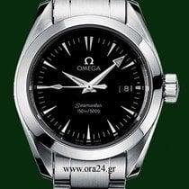 Omega Seamaster Aqua Terra 29mm Date Stainless Steel Black Dial