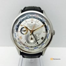 Maurice Lacroix Masterpiece Worldtimer Gmt,Steel