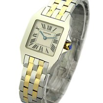 Cartier W25067Z6 Santos Demoiselle in 2-Tone - Large Size - on...