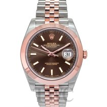Rolex Datejust 41 Chocolate/Rose gold 41mm - 126301