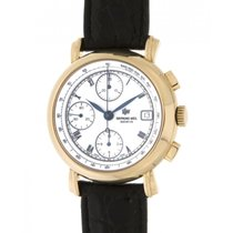 Raymond Weil 10117 Yellow Gold, Leather, 38mm