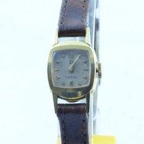 Omega Damen Uhr Handaufzug Vintage 15mm 18k 750 Massiv Gold...