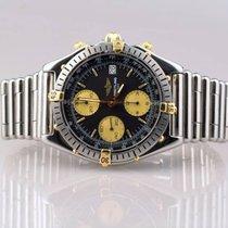 Breitling Chronomat Chronograph Stahl Gold Ref. B13047...