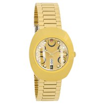 Rado Original Diastar Mens Champagne Dial Swiss Quartz Watch...