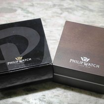 Philip Watch vintage wooden watch box newoldstock