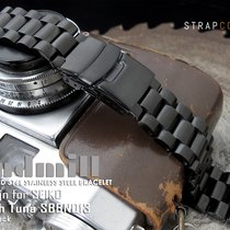 Seiko Tuna PVD Black Endmill Replacement Bracelet