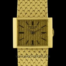 Patek Philippe 18k Yellow Gold Champagne Dial Vintage Ladies...