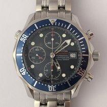 Omega Seamaster Professional 300M Chronograph Blue Dial