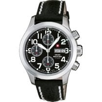 Swiss Military Herrenuhr Automatik Chronograph A5.ST4LBK /...