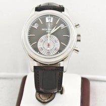 Patek Philippe 5960P 40mm Platinum Annual Calendar Box &...