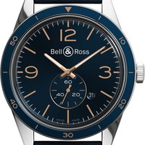 Bell & Ross Vintage Aeronavale 43 Automatic Blue Dial  ...