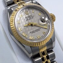 Rolex Datejust 69173 Jubille 18k Yellow Gold & Ss Pyramid...