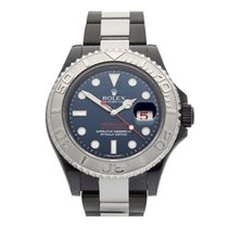 Rolex Yacht-Master Hercules Custom DLC Coated Stainless Steel...
