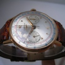 Longines 30CH Chronograph Fly-Back 18Kt Solid Gold YEAR 1959