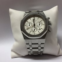 Audemars Piguet Royal Oak Chronograph Silver Dial Stainless Steel