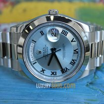 Rolex Oyster Perpetual Day-Date II 41mm Platinum Case