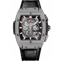 Hublot Spirit of Big Bang Titanium Pave 45 mm