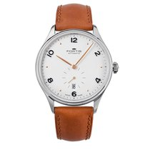 Fortis TERRESTIS HEDONIST a.m. Steel AM Automatic Date 9012012