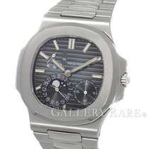 パテック・フィリップ (Patek Philippe) Nautilus Blue Dial Moonphase Power...