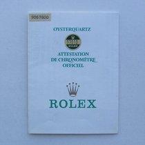 Rolex Libretto / Booklet Oysterquartz 17000