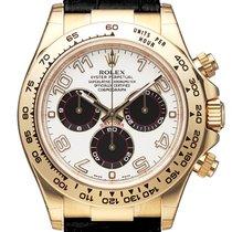 Rolex Cosmograph Daytona 18 kt Gelbgold / Leder