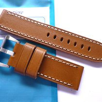 Bodhy Handmade leather strap in 24mm - Brown in 24/24mm -...