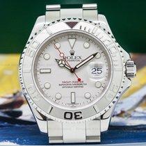 Rolex 16622 Yacht Master SS Platinum Bezel 'NEW OLD...
