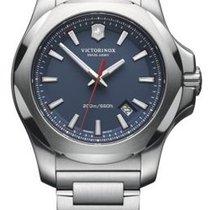 Victorinox Swiss Army I.N.O.X. Dial Blue Steel Bracelet 20 ATM...