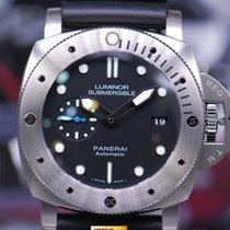 Panerai Luminor Submersible 47mm Titanium Automatic Pam 1305...