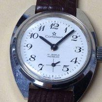 Cortébert Incabloc Ladies' Watch 17 Jewels New Steel