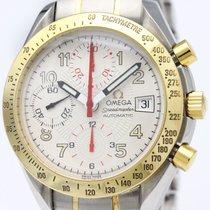 オメガ (Omega) Speedmaster Mark 40 18k Gold Steel Mens Watch...