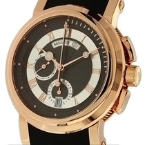Breguet Marine Chronograph 18k Rose Gold/Rubber 42mm