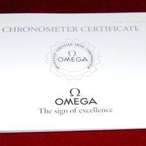 Omega Chronometer Certificate Heft