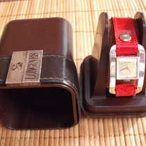 Longines Serge Manzon silver ladies watch with box ON SALE
