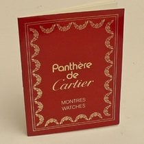 Cartier Instruction Manual Booklet Panthere