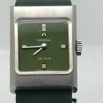 Omega DE VILLE LADY VERY RARE GREEN NEW OLD STOCK