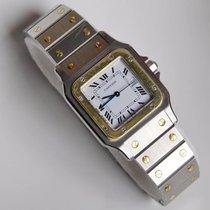 Cartier Santos Galbée Gold Stahl Automatik REF  2961