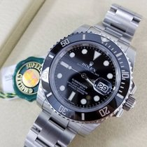 Rolex SUBMARINER Stainless Steel Watch Black Ceramic