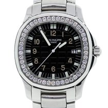 Patek Philippe 5087/1A Aquanaut Diamond Bezel Watch