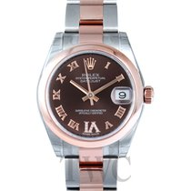 Rolex Datejust Lady 31 Chocolate Steel Rose Gold Dia 31mm -...