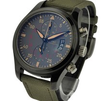 IWC IW388002 Pilots Chronograph Top Gun Miramar in Black...