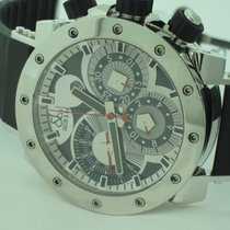 Jacob & Co. Epic II Stainless Steel Automatic Chronograph