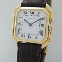 Cartier Paris Ceinture Automatik Gents 18k +Cartier revision new