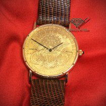 Corum US Twenty Dollars Eagle 1904 Automatic 18k Yellow Gold...