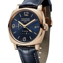 Panerai Radiomir 1940 10 Days Gmt Automatic Oro Rosso - 45mm -...